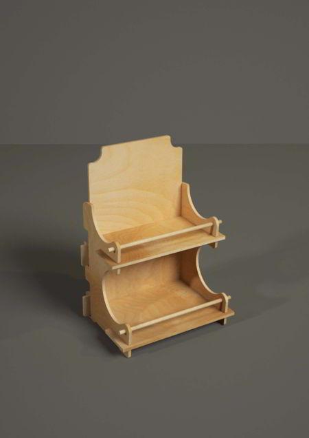 B1040 bernini espositore da banco in legno for Bernini arredamento