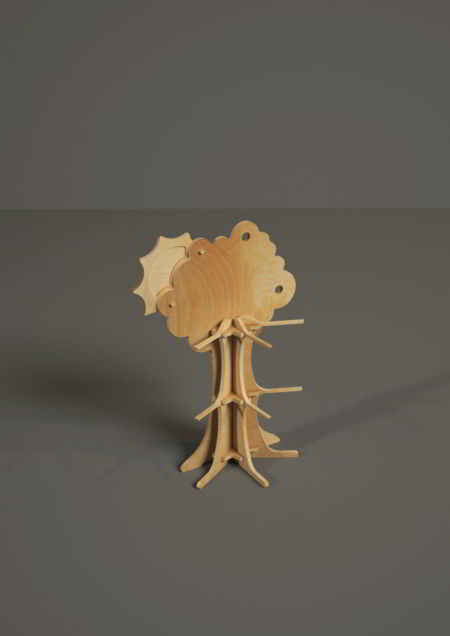 Tabletop display B1062 - Sweet Tree